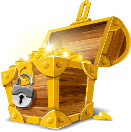 glod_lock_objects_vector_graphic_528381