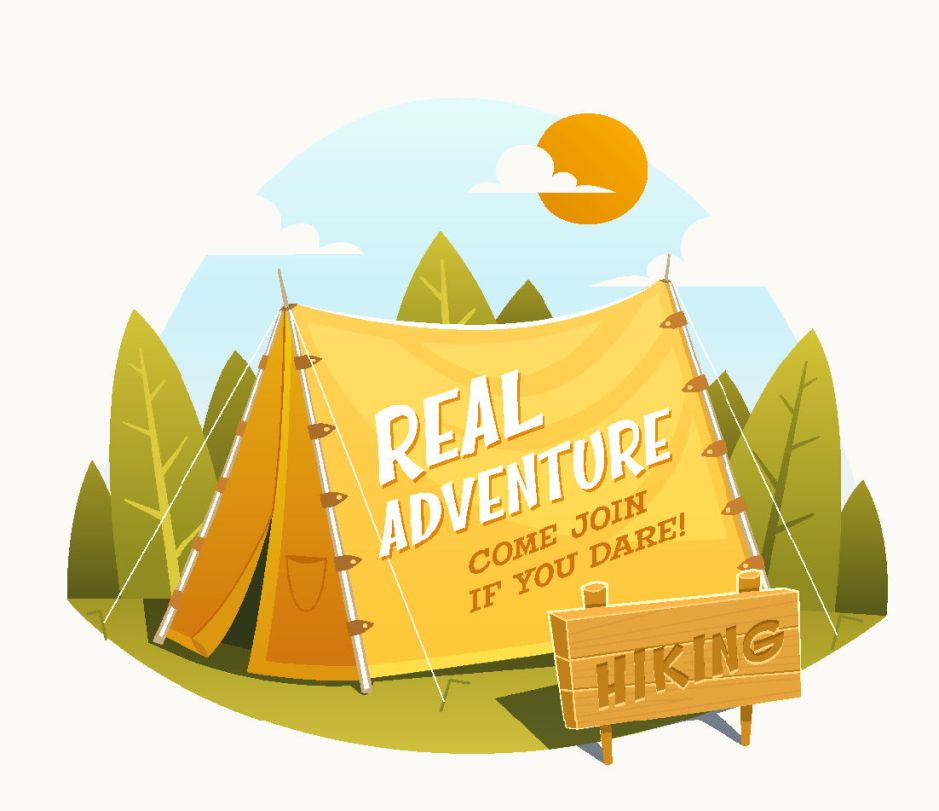 Traveling with adventures vintage vector background 04.jpg